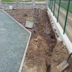 příprava závlahy na zahradě