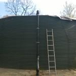 instalace nadzemní nádrže
